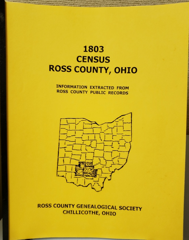 1803 Ross County Census
