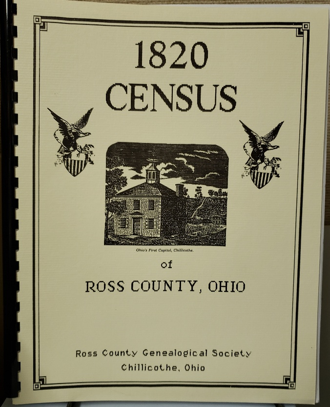 1820 Ross County Census