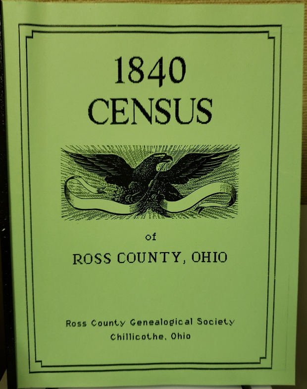 1840 Ross County Census