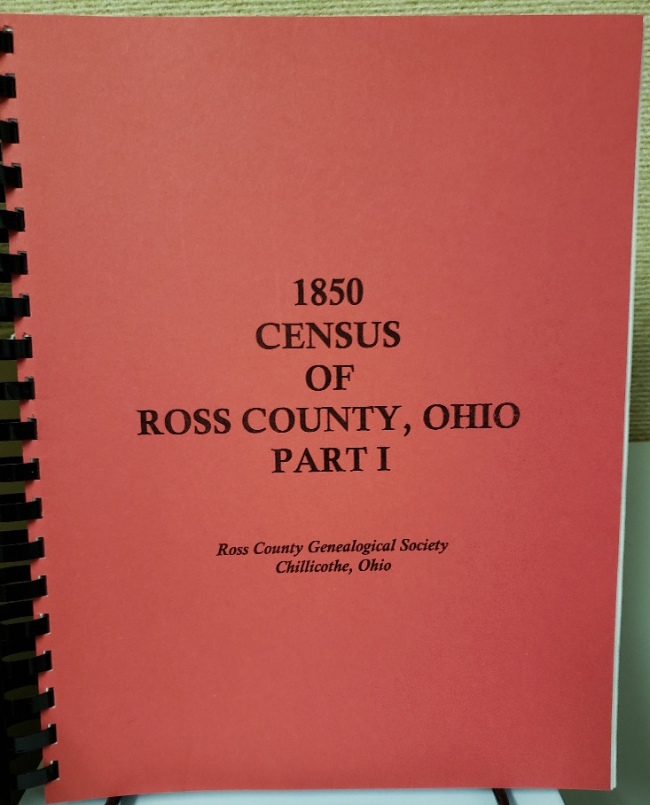 1850 Ross County Census