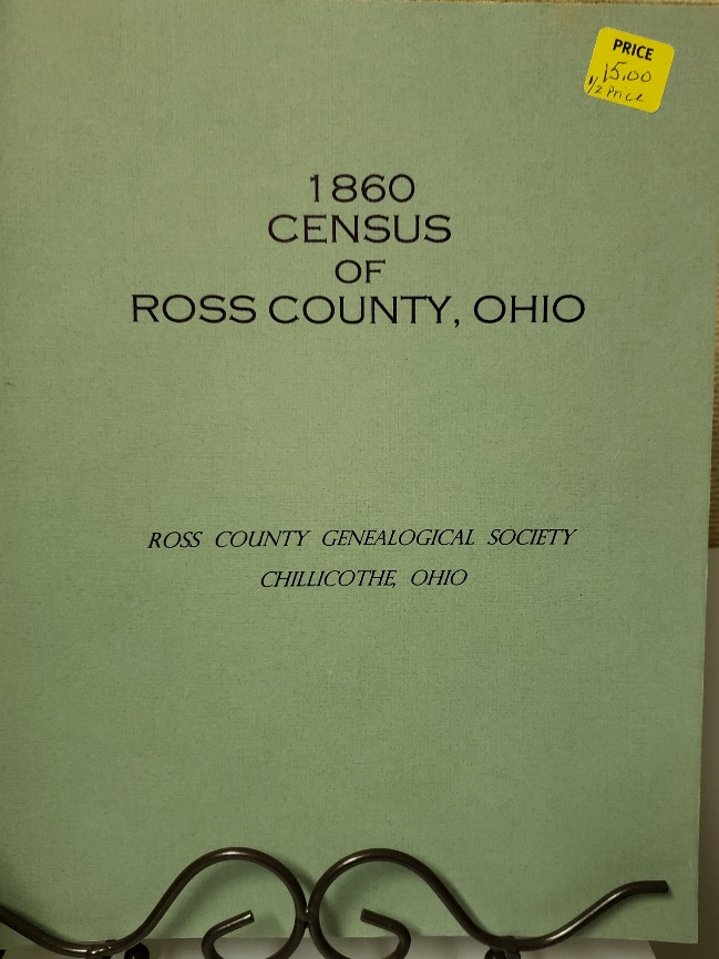1860 Ross County Census